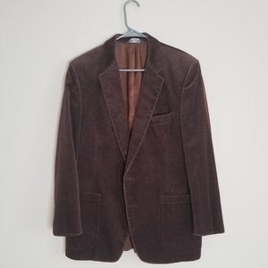 Vintage Christian Dior Monsieur Brown Blazer 40R